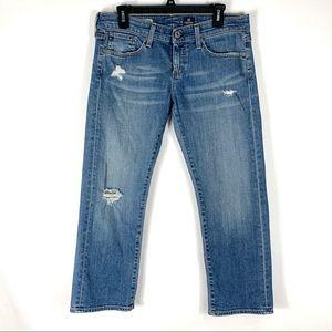 Adriano Goldschmeid The Tomboy Crop Jeans Sz 28